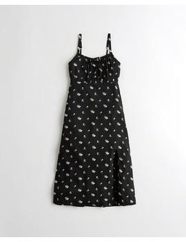 Midi Babydoll Dress by Hollister