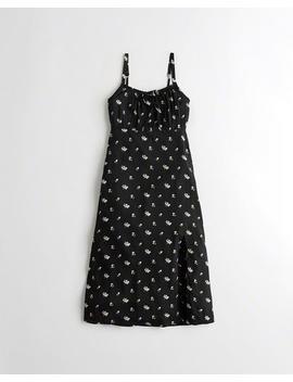 Midi Babydoll Dress by Hollister