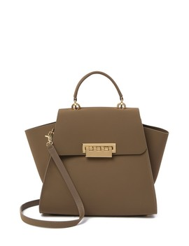 Eartha Suede Top Handle Satchel by Zac Zac Posen