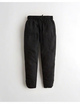 High Rise Tencel Joggers by Hollister