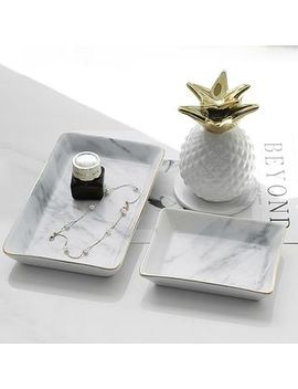 Mimike   Small Marble Desk Organizer by Mimike