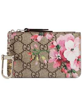 Gg Blooms Key Case by Gucci