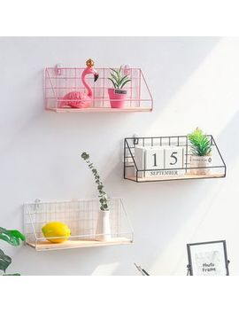 Foresty   Adhesive Iron & Wood Wall Organizer by Foresty