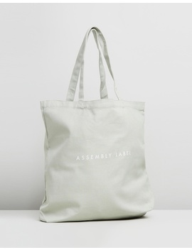 Logo Linen Tote by Assembly Label