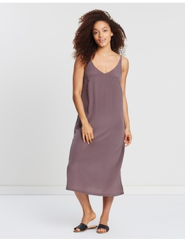 Silk Deep V Cami Dress by Assembly Label