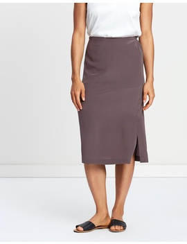 Silk Fluent Skirt by Assembly Label