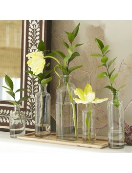 Charlton Home Mccullough 6 Piece Vase Set With Tray & Reviews by Charlton Home