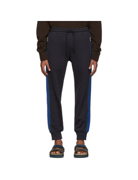 Navy Hastley Lounge Pants by Dries Van Noten