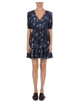 Jazz Floral Silk Dress by The Kooples