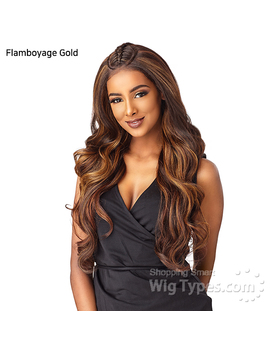 Sensationnel Synthetic Cloud 9 Swiss Lace What Lace 13x6 Frontal Lace Wig   Solana by Wig Types