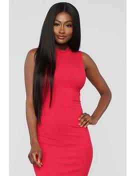 Rydell Midi Dress   Red by Fashion Nova