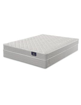 "Serta Serta 7"" Firm Innerspring Mattress And Box Spring by Serta"