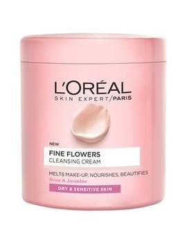 L'oreal Paris Fine Flowers Cleansing Cream 200ml by Superdrug