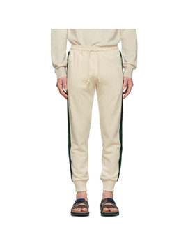 Off White Hastley Lounge Pants by Dries Van Noten