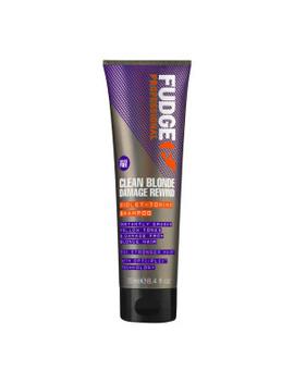 Clean Blonde Damage Rewind Shampoo 250ml by Fudge Professional