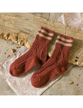 1 Pair Women Retro Two Striped Knee Socks Autumn Winter Christmas Female Socks Meias Femininas Ladies Socks Art Chaussette Femme  by Arherigele