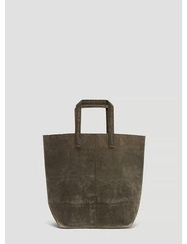 007 Waxed Canvas Bag In Grey by Funagata