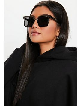 Quay Australia X Jaclyn Hill Upgrade Black Gold Sunglasses by Missguided