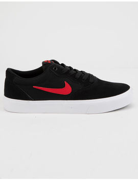 Nike Sb Chron Slr Black & Red Shoes by Nike Sb