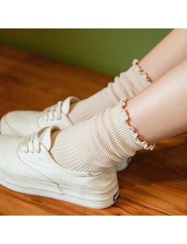 Jeseca 2018 Autumn Winter Fashion Women Warm Wool Socks Breathable Black Cute Harajuku Cotton Short Retro Sox Gifts For Woman by Jeseca