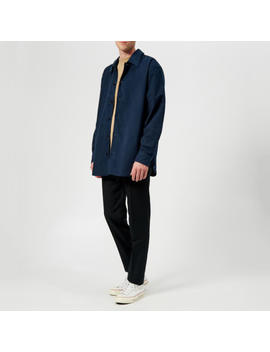 Acne Studios Men's Over Shirt   Mineral Blue by Acne Studios