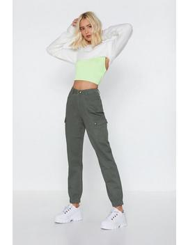 Cuffed Cargo Pants by Nasty Gal