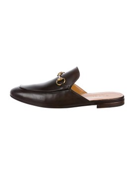 Leather Horsebit Slippers W/ Tags by Gucci