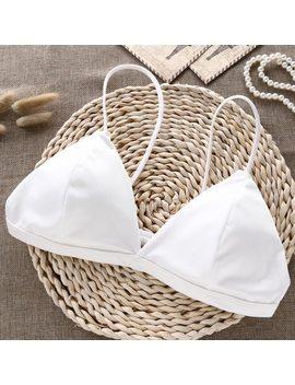 Deruilady Comfortable Wire Free Underwear Women Bra 2018 New Elegant Small Straps Bras Sexy Lingerie Women Seamless Bralette by De Rui La Dy