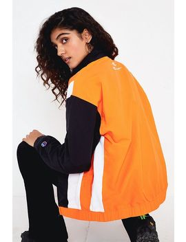 Champion Orange Zip Through Track Top by Champion