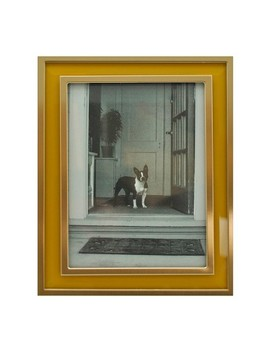 "5""X7"" Aspen Metal Frame With Bevel Glass Gold   Threshold™ by Threshold"