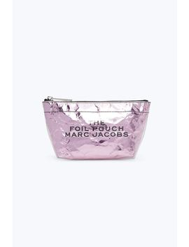 Foil Travel Pouch by Marc Jacobs