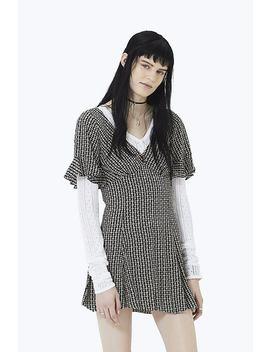 Flower Chain Ruffle Mini Dress by Marc Jacobs
