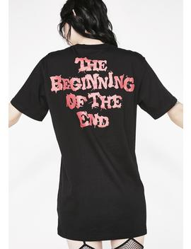 The End T Shirt by Killstar