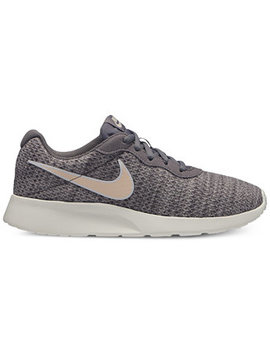 Women's Tanjun Premium Casual Sneakers From Finish Line by Nike