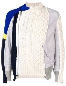 Patchwork Jumper by Sacai
