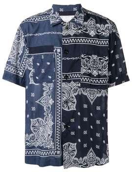 Banda Print Shirt by Sacai