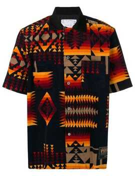 Navajo Print Shirt by Sacai