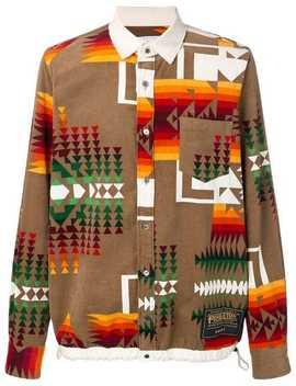 Navajo Print Overshirt by Sacai