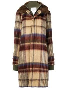 Oversized Layered Coat by Sacai