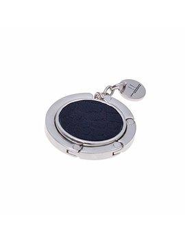Mabba® Taschenhalter Leder   Emmi   Handtaschenhalter   Aufhänger   Bag Holder   Croc Black by Amazon