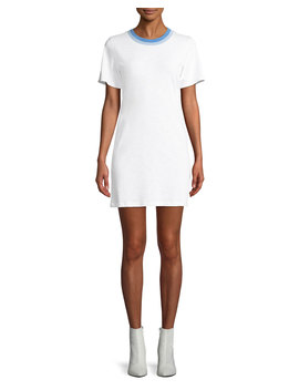 Jolie Crewneck Mini Length Tee Dress by Rag & Bone