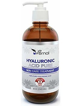 Insta Skincare Hyaluronic Acid For Skin   100 Percents Pure Medical Quality Clinical Strength Formula   Anti Aging Formula (8 Oz) by Insta Skincare