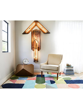 "Novogratz By Momeni Delmar Del08 Multi 2' 3"" X 8'  Runner Area Rug by Novogratz Collection"