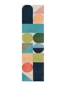 Novogratz Wright Hand Tufted Wool Blue/Green Area Rug & Reviews by Novogratz