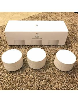 Google(Tm) Wi Fi Wireless Ac Dual Band Routers, 4725933, Pack Of 3 by Google