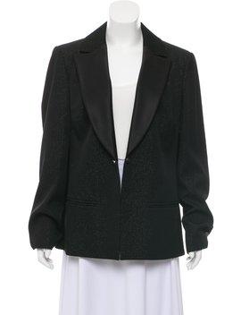 Metallic Wool Blazer by Chanel