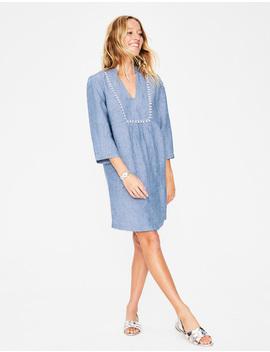 Evangeline Linen Tunic by Boden
