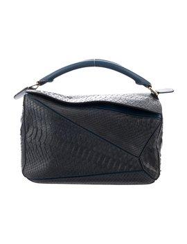 Python Puzzle Bag by Loewe