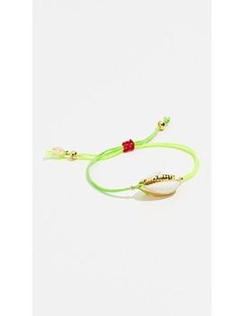 Caroline Neon Slide Bracelet by Shashi