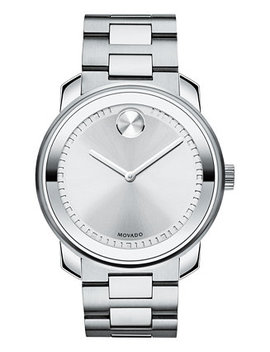 Unisex Swiss Bold Stainless Steel Bracelet Watch 43mm 3600257 by Movado